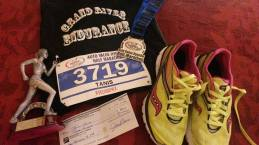 Niagara Falls International Half-Marathon 3rd Female overall