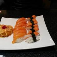 crab and salmon yumm