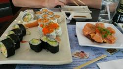 sushiiiii - addicted? uh yes - sushi mountain