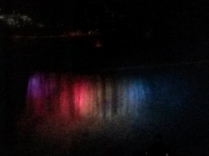 The Falls at night
